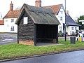 Bus Shelter, Bramfield - geograph.org.uk - 1102157.jpg