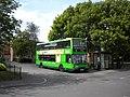 Bus at Killisick terminus - geograph.org.uk - 3006726.jpg