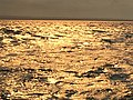 Bushfire Induced Sunset Gold On Jervis Bay, NSW.jpg
