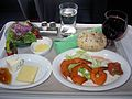 Business class meal - appetizer.jpg
