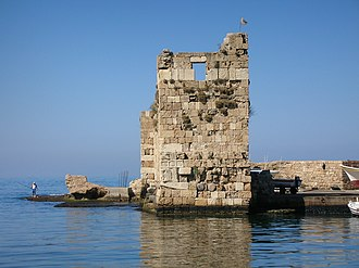 Mount Lebanon Governorate - Ruins of port in Byblos