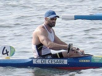César de Cesare - Cesare at the 2016 Olympics