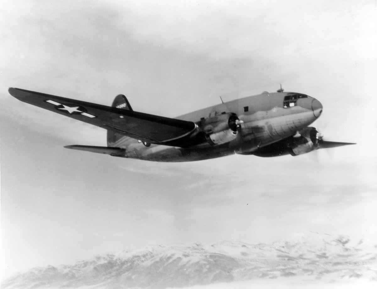 Curtiss C 46 Mando