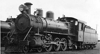 Midland Railway of Western Australia - C16 at Midland Junction in 1949