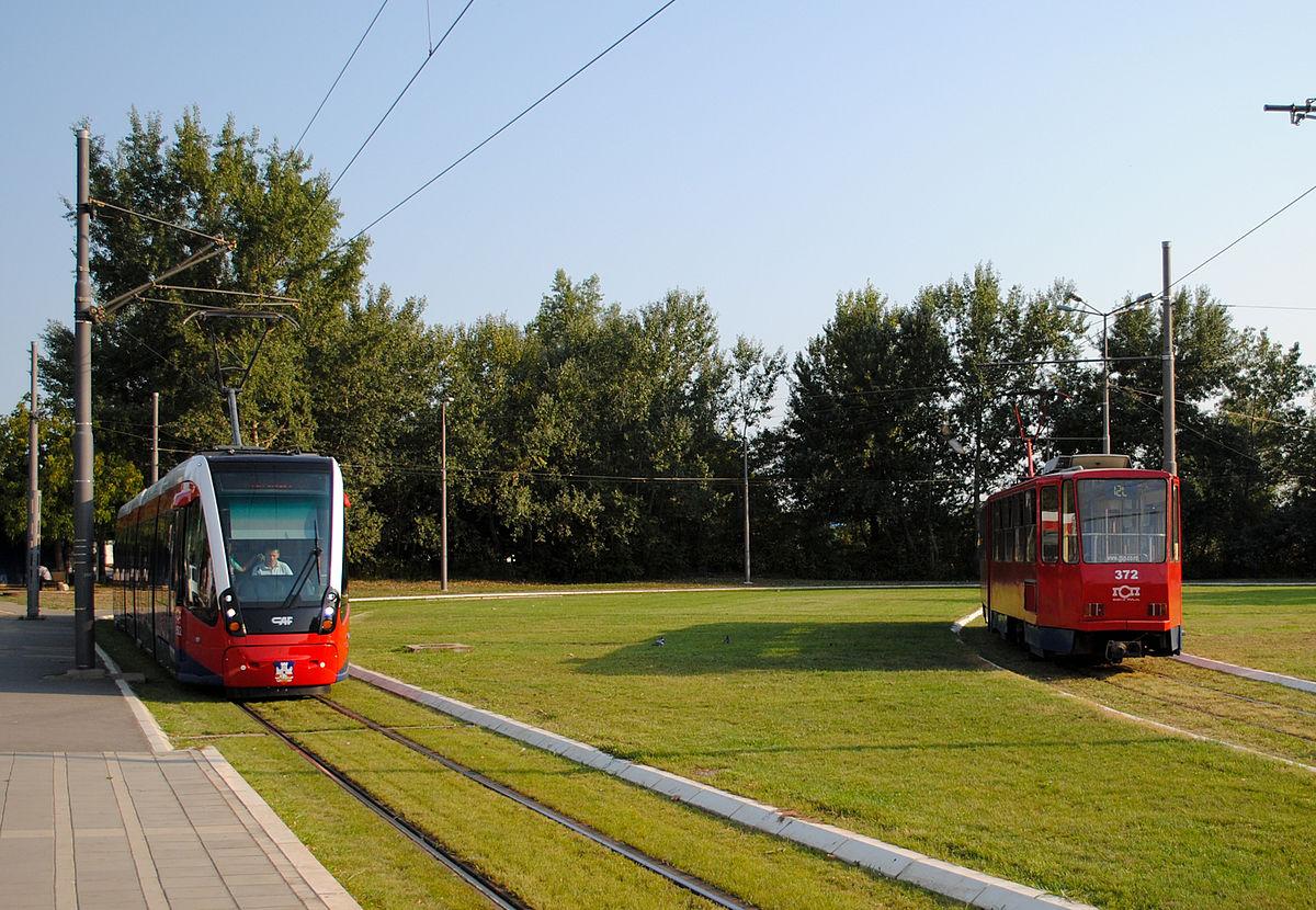 Tram line 11 in dresden saxony germany 8