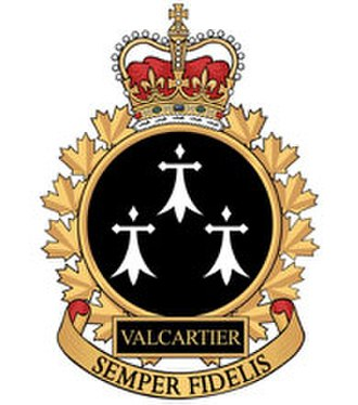 CFB Valcartier - Image: CFB BFC Valcartier