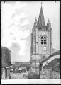 CH-NB - Cossonay, Église, vue partielle - Collection Max van Berchem - EAD-9407.tif