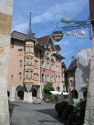 Biel/Bienne - Old Town of Bienne