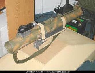 MARA (anti-tank weapon) - Image: CITEFA Mara