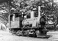 COLLECTIE TROPENMUSEUM Een oude locomotief van de Staatsspoorwegen TMnr 10007614.jpg