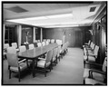 CONFERENCE ROOM TO NORTHWEST - U. S. Courthouse, 1010 Fifth Avenue, Seattle, King County, WA HABS WASH,17-SEAT,6-31.tif