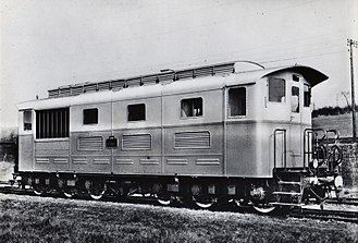 Léon Daum - Diesel locomotive built by Marine-Homécourt in 1937