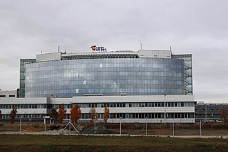 Ruzyně - Head office of Czech Airlines