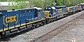 CSX Transportation - 3271, 2426, 1006, & 2443 diesel locomotives (Marion, Ohio, USA) 2 (29352246738).jpg
