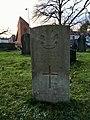 CWGC graves at Cathays Cemetery, December 2020 02.jpg