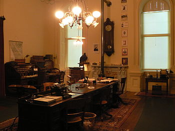Reconstitution of the office of the California...