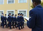 Calling 'column rights' right, Airmen judge AHS JROTC drills 151028-F-XD389-034.jpg