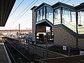 Cambridge Station, the new footbridge and the widened Platform 5 - geograph.org.uk - 2700947.jpg