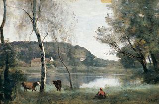 El estanque de la Ville d'Avray