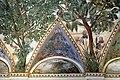 Camillo mantovano, volta della sala a fogliami di palazzo grimani, 1560-65 ca., lunette con grottesche e rebus allusivi al processo per eresia di giovanni grimani 13.jpg