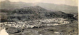 Waziristan campaign (1936–1939) - August 1938, Waziristan. Razani Military Camp. Taken from the Razmak side