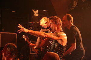 Die Toten Hosen - Campino in Wrocław, October 2010