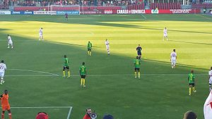 Dominica national football team - Canada vs. Dominica 2018 FIFA World Cup qualifier at BMO Field, Toronto, Ontario, Canada on June 16, 2015