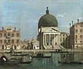 Canaletto (1697-1768) (follower of) - Venice, S. Simeone Piccolo - NG1885 - National Gallery.jpg