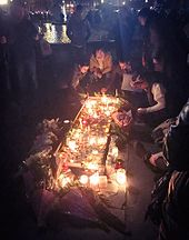 Candlelit vigil in Trafalgar Square 23 March