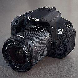 Canon EOS 700D - Wikipedia, la enciclopedia libre