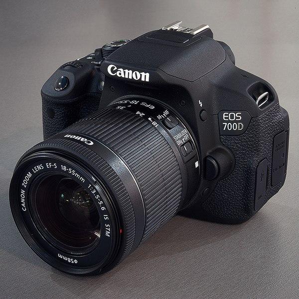 ملف:Canon EOS 700D 18-55 Kit jpg - ويكيبيديا، الموسوعة الحرة