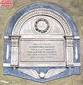 Cappella pandolfini, ext., tomba leopoldino baldocci.JPG