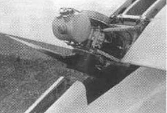 Motor glider - Carden-Baynes Auxiliary engine
