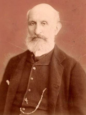 Carlo Pedrotti - Carlo Pedrotti circa 1882 - photograph by Antonio Bertulli