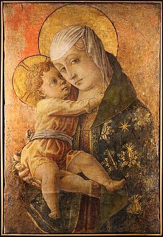 Macerata - Madonna with Child by Carlo Crivelli (1470), Pinacoteca di Macerata