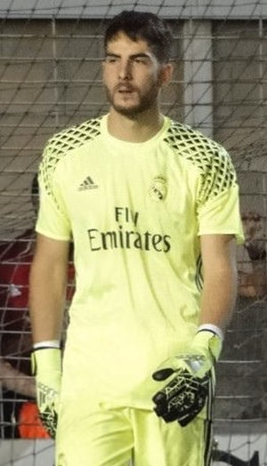 Carlos Abad - Carlos with Real Madrid B in 2016