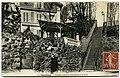 Carte postale - 31 - SURESNES - escalier rustique conduisant à la Gare (Longchamp) - Recto.jpg