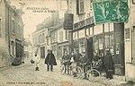 Carte postale ancienne - Issoudun (Indre) - Carrefour de Villatte (1917).jpg