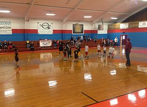 Carterville, Missouri - Image: Carterville Gymnasium