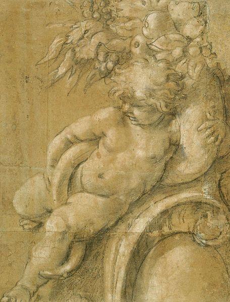 File:Cartoon of a putto with a cornucopia.jpg