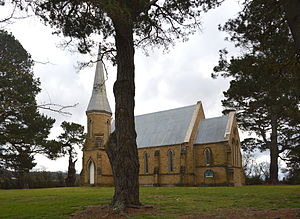 Carwoola - St Thomas' Anglican church, Carwoola - completed in 1874
