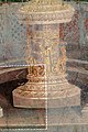 Casa dei vettii, vestibolo, primo atrio, candelabre su basi decorate 03.jpg