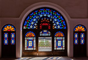 Tabātabāei House - Image: Casa histórica de Tabatabaeis, Kashan, Irán, 2016 09 19, DD 62