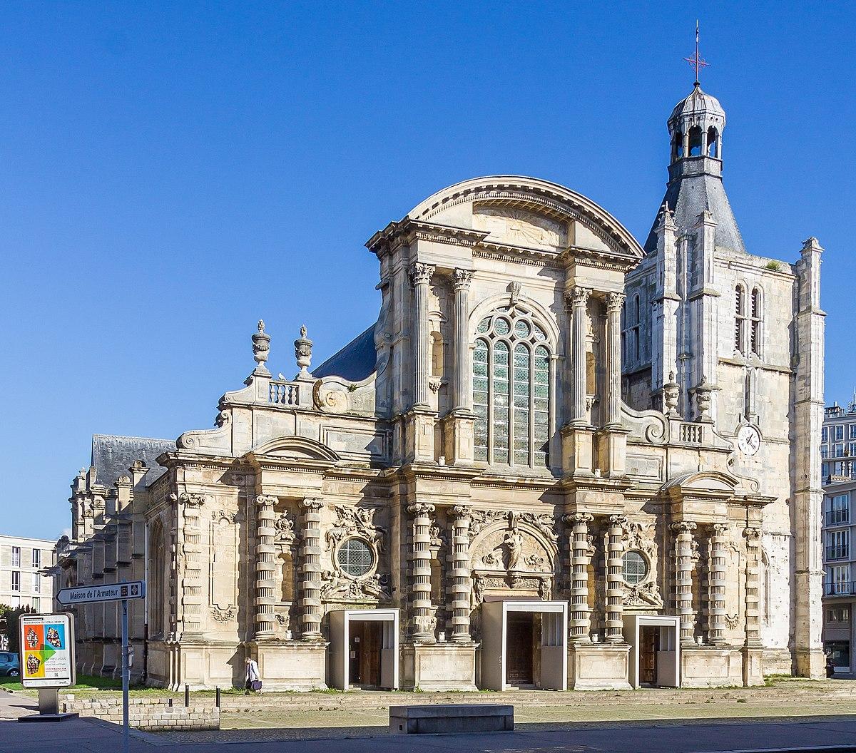 cathédrale notre-dame du havre — wikipédia