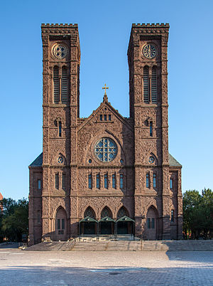 Cathedral of Saints Peter and Paul (Providence, Rhode Island) - Image: Cathedral of Saints Peter and Paul