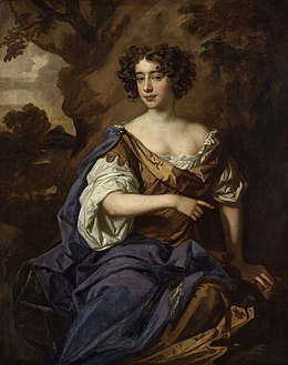 Catherine (Sedley), Countess of Dorchester by Sir Peter Lely.jpg