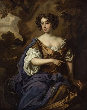 Catherine Sedley, Countess of Dorchester - The Countess of Dorchester, painted by Sir Peter Lely, c. 1675.
