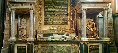 Detail of monument to Edward Seymour, 1st Earl of Hertford, Salisbury Cathedral Catherine Grey tomb.jpg