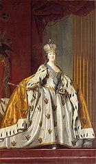 Katharina II af Rusland i kroningsdragt