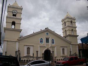 La Esperanza, Honduras - Catholic Church in the Central Park of La Esperanza